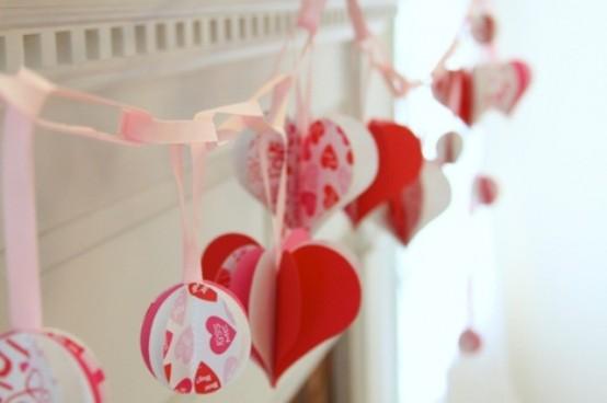 valentines day mantel decor ideas 19 554x368 65 вещей, способных сделать день всех влюбленных 14 февраля действительно особенным