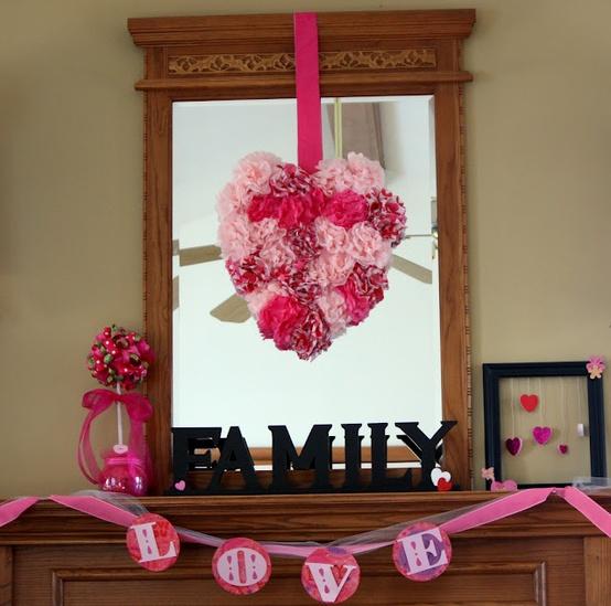 valentines day mantel decor ideas 21 65 вещей, способных сделать день всех влюбленных 14 февраля действительно особенным