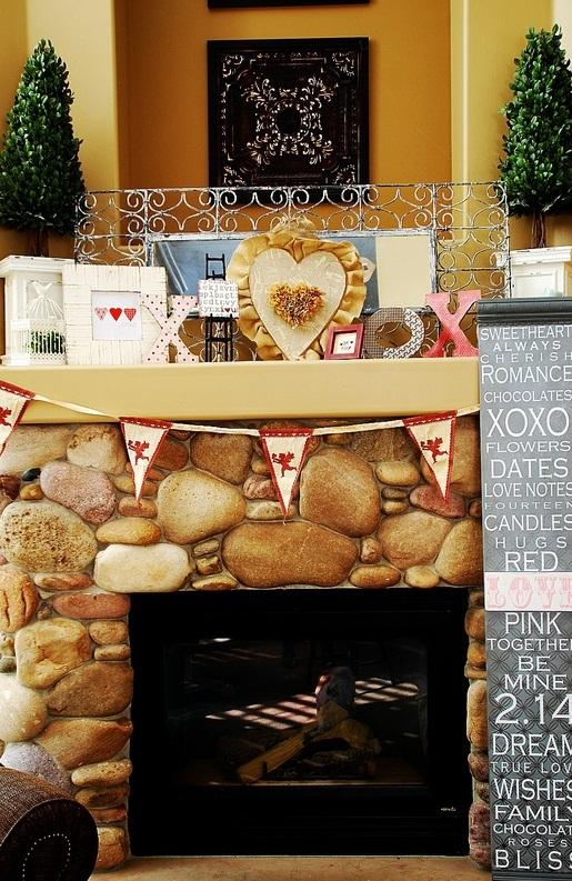 valentines day mantel decor ideas 28 65 вещей, способных сделать день всех влюбленных 14 февраля действительно особенным