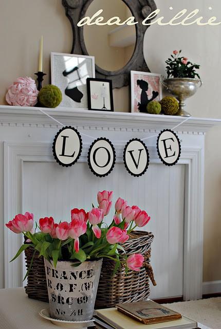 valentines day mantel decor ideas 29 65 вещей, способных сделать день всех влюбленных 14 февраля действительно особенным