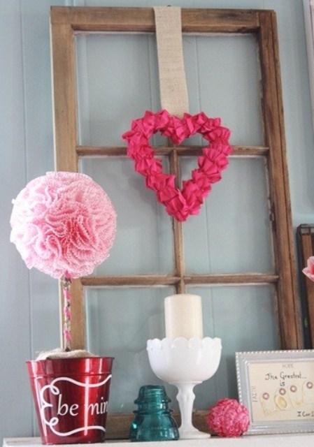 valentines day mantel decor ideas 36 65 вещей, способных сделать день всех влюбленных 14 февраля действительно особенным
