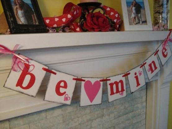 valentines day mantel decor ideas 47 554x415 65 вещей, способных сделать день всех влюбленных 14 февраля действительно особенным