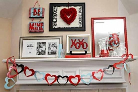valentines day mantel decor ideas 49 554x367 65 вещей, способных сделать день всех влюбленных 14 февраля действительно особенным