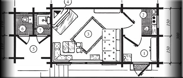Где правильно установить камин в квартире