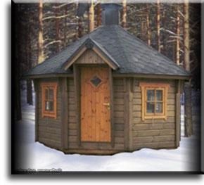 Финские гриль-домики