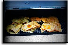 Приготовление, гриль, барбекю