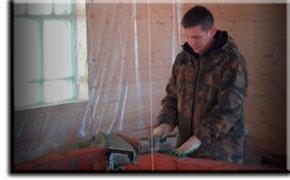 Мастер-печник Александр Осокин