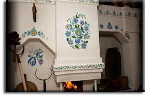 Чем покрасить печь
