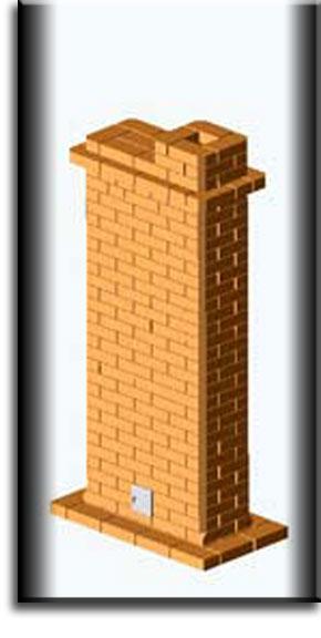Печь «шведка» для отапливания двухэтажного дома