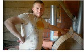 Мастер-печник из Любань, Ленинградская область: Александр Григорьев