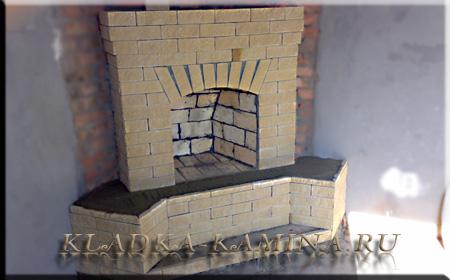 фотографии каминов барбекю выполненные работы