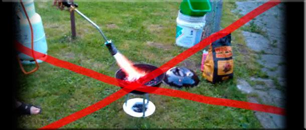 Как разжечь мангал