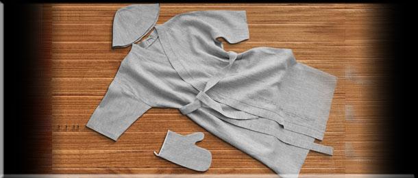 Одежда и аксессуары для бани