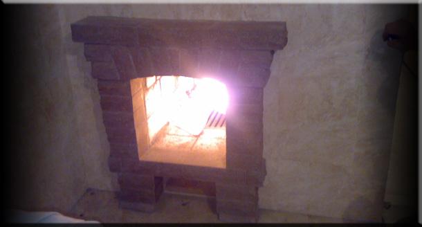 Переделываем печь в камин