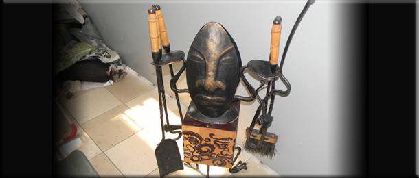 Африканский набор для камина