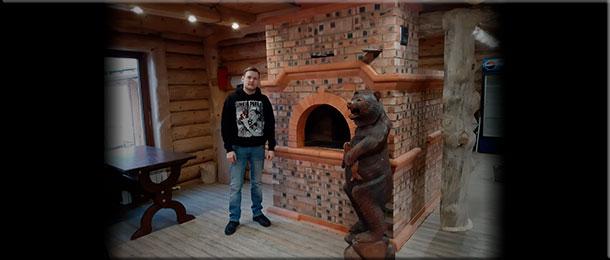Мастер-печник Роман Карбушев