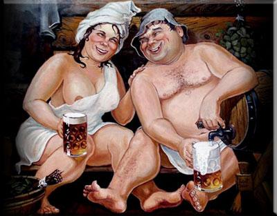 Алкоголь и баня
