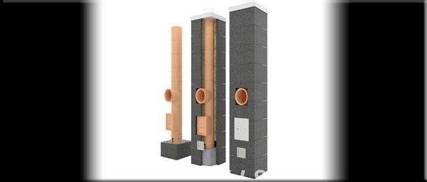 Системы дымоходов из керамики.