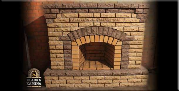 Как построить кирпичный  камин. Часть 2
