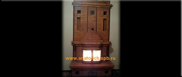 Мастер-печник Кастырин Виктор Анатольевич