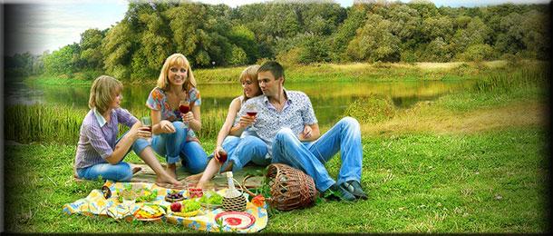 Пикник с друзьями: хорошо отдохнем!