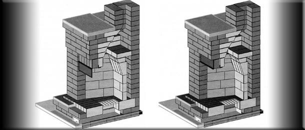 Ремонт дымящих каминов