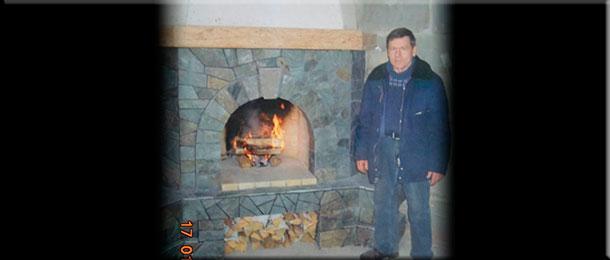 Мастер-печник Владимир Михайлович