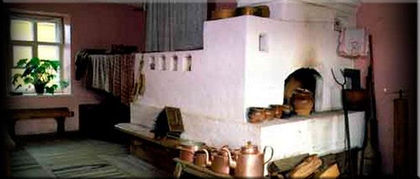 Белим и восстанавливаем печь