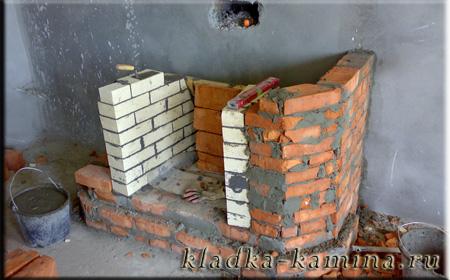 стенки камина