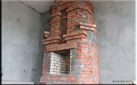 Готовый камин
