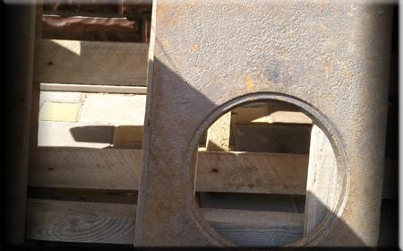 Чугунная плита для садового мангала