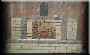 Фасад камина