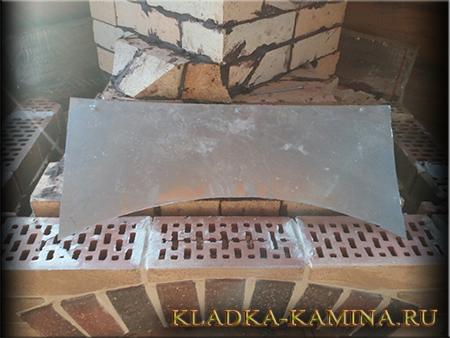 Металлический лист от перегрева