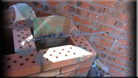Духовая печь — мангал