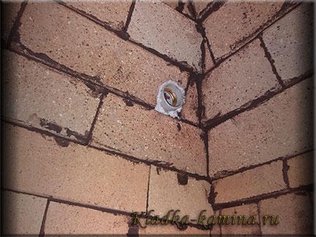 патрон для лампочки в Мангал