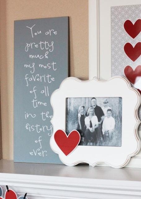 valentines day mantel decor ideas 10 65 вещей, способных сделать день всех влюбленных 14 февраля действительно особенным