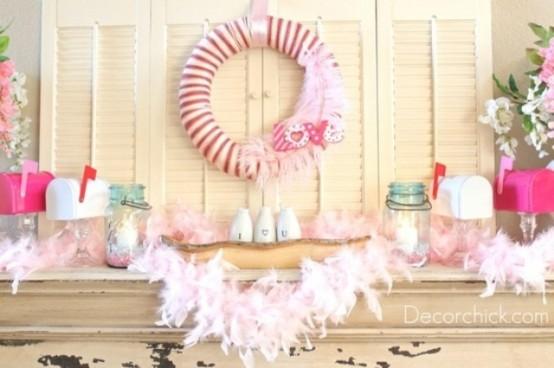 valentines day mantel decor ideas 1 65 вещей, способных сделать день всех влюбленных 14 февраля действительно особенным