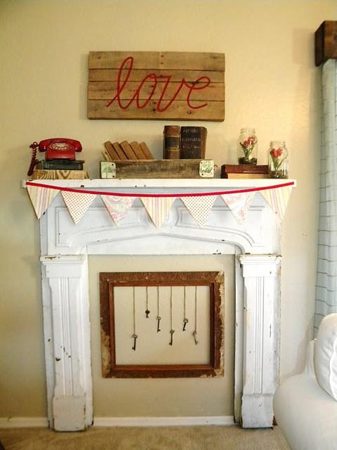 valentines day mantel decor ideas 31 65 вещей, способных сделать день всех влюбленных 14 февраля действительно особенным