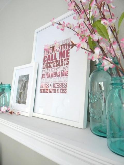 valentines day mantel decor ideas 37 65 вещей, способных сделать день всех влюбленных 14 февраля действительно особенным