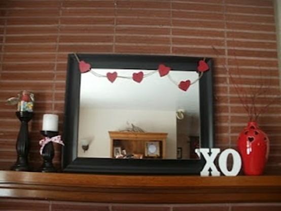 valentines day mantel decor ideas 52 554x415 65 вещей, способных сделать день всех влюбленных 14 февраля действительно особенным