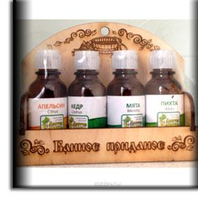 Эфирные масла для бани