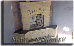угловой камин