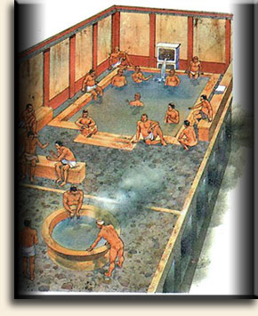 Своя римская баня у себя на даче