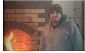 Мастер-печник из Зна́менка, Орловского района: Дуров Андрей Геннадьевич