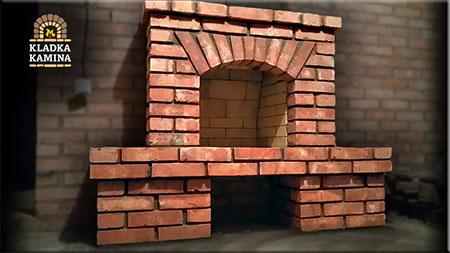 Камин с аркой