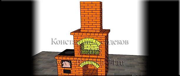Мастер-печник Константин Сердеков