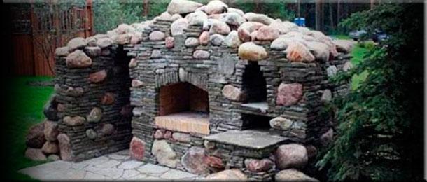 Какой раствор лучше применять для кладки барбекю диким камнем как изготовить барбекю на улице