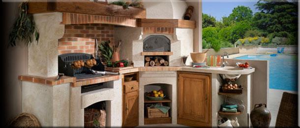 Строительство садовой печи барбекю своими руками