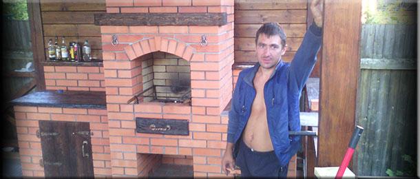 Мастер-печник Андрей Кириченко