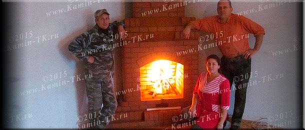 Мастер-печник Александр и Анна Ткачевы